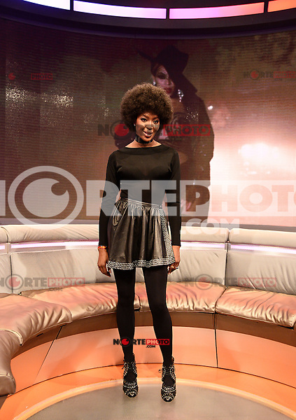 NEW YORK, NY - MARCH 3 ,2014 :Model Naomi Campbell visits B.E.T. 's 106 and Park Studio in New york City ,March 3, 2014 in New York City. ©HP/Starlitepics/NortePhoto