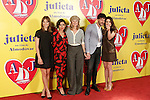 Spanish actors Michelle Jenner, Inma Cuesta, Emma Suarez, Daniel Grao and Adriana Ugarte attend the photocall of presentation of the Pedro Almodovar's new film 'Julieta'. April 4, 2016. (ALTERPHOTOS/Acero)