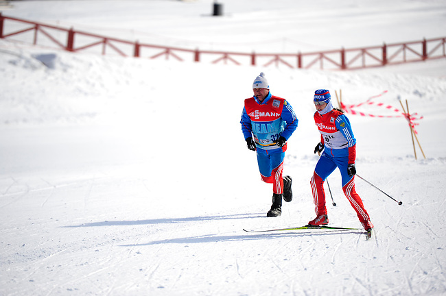 FALUN, SWEDEN - March 21: During the training session for the FIS Cross country World Cup Final on March 22, 2013 in Falun, Sweden. (Photo by Dirk Markgraf)