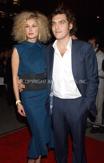 WWW.ACEPIXS.COM . . . . . ....NEW YORK, NOVEMBER 10, 2005....Rosamund Pike and Joe Wright at the New York Premiere of 'Pride and Prejudice' at Loews Lincoln Centre.......Please byline: KRISTIN CALLAHAN - ACE PICTURES.. . . . . . ..Ace Pictures, Inc:  ..Philip Vaughan (212) 243-8787 or (646) 679 0430..e-mail: info@acepixs.com..web: http://www.acepixs.com