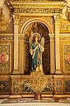 Altar, Monastery of Bonany, Es Pla, Mallorca. Bonany --the site of the last sermon of Fr. Junipero Serra before leaving for the Mexico and California in 1735...Santuario de la Mare de Deú de Bonanywas originally constructed in the XVII. century.
