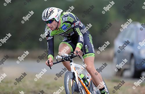 2014-04-08 / Wielrennen / seizoen 2014 / Kevin Verwaest<br /><br />Foto: mpics.be