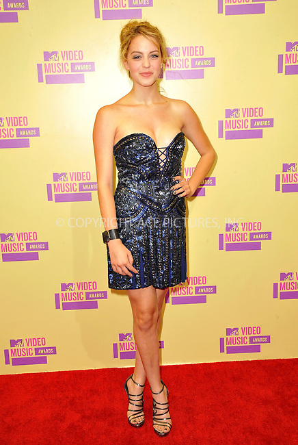 WWW.ACEPIXS.COM....September 6, 2012, Los Angeles, CA.....Gage Golightly arriving at the 2012 MTV Video Awards at the Staples Center on September 6, 2012 in Los Angeles, California. ..........By Line: Peter West/ACE Pictures....ACE Pictures, Inc..Tel: 646 769 0430..Email: info@acepixs.com