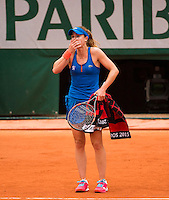 ALIZE CORNET (FRA)<br /> <br /> Tennis - French Open 2015 -  Roland Garros - Paris -  ATP-WTA - ITF - 2015  - France <br /> <br /> &copy; AMN IMAGES