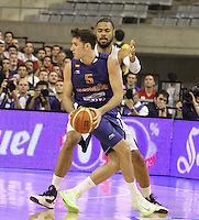 24.07.2012 Barcelona, Spain.  Pre-Olympic friendly game between Spain against USA at Palau St. Jordi. Picture shows Rudy Fernandez