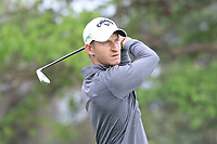Tom Murray (ENG) in action on 1st tee during the second round of the Magical Kenya Open presented by ABSA played at Karen Country Club, Nairobi, Kenya. 15/03/2019<br /> Picture: Golffile | Phil Inglis<br /> <br /> <br /> All photo usage must carry mandatory copyright credit (&copy; Golffile | Phil Inglis)