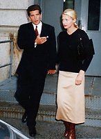John Kennedy & wife Carolyn Bessette 1996<br /> Photo By John Barrett-PHOTOlink.net