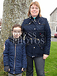 Rosie and Millie Ann Dowd who took part in the Ryan Coyle Run/Walk in Duleek. Photo:Colin Bell/pressphotos.ie