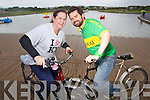Couple who met at the Kerry Bicycle festival three years ago launch the Festival Helen Burman-Roy and Niall Burman-Roy.