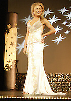 12 July, 2008:    Miss Yakima County Marcie Anglen showed off her evening wear dress in the evening wear competition during the 2008 Miss Washington pageant at the Pantages Theater in Tacoma , Washington. Miss Yakima County Marcie Anglen was 4rth runner up in the 2008 Miss Washington Pageant.