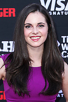 ANAHEIM, CA - JUNE 22: Vanessa Marano attends The World Premiere of Disney/Jerry Bruckheimer Films' 'The Lone Ranger' at Disney California Adventure Park on June 22, 2013 in Anaheim, California. (Photo by Celebrity Monitor)