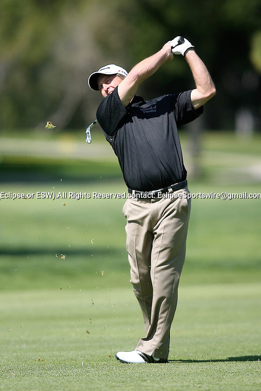 March 07, 2009 Newport Beach, CA: Fred Funk during the 2nd round of the Toshiba Classic, held at the Newport Beach Country Club.