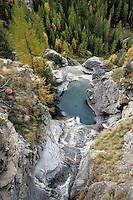 Un paesaggio nel Parco Nazionale del Gran Paradiso in Val d'Aosta.<br /> Scenic landscape at the Gran Paradiso National Park, Aosta Valley.<br /> UPDATE IMAGES PRESS/Riccardo De Luca