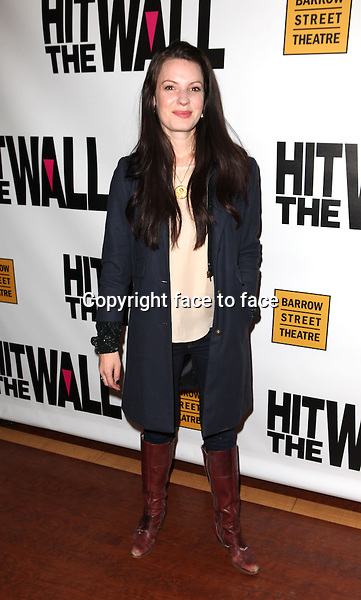 "Kate Arrington attending the New York Premiere of the Opening Night Performance of ""Hit The Wall"" at the Barrow Street Theatre in New York City on 3/10/2013...Credit: McBride/face to face"