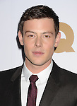 LOS ANGELES, CA - NOVEMBER 13: Cory Monteith .. arrives at the GQ Men Of The Year Party at Chateau Marmont Hotel on November 13, 2012 in Los Angeles, California.