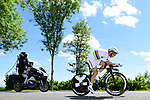 World Champion Tony Martin (GER) Team Katusha Alpecin in action during Stage 4 of the Criterium du Dauphine 2017, an individual time trial running 23.5km from La Tour-du-Pin to Bourgoin-Jallieu, France. 7th June 2017. <br /> Picture: ASO/A.Broadway | Cyclefile<br /> <br /> <br /> All photos usage must carry mandatory copyright credit (&copy; Cyclefile | ASO/A.Broadway)