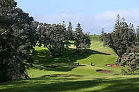 General View during the Charles Tour Augusta Funds Management Ngamotu Classic, Ngamotu Golf Course, New Plymouth, New Zealand, Thursday 12 October 2017.  Photo: Simon Watts/www.bwmedia.co.nz