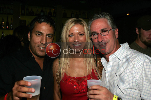 Leo Quinones with Mona Vaught and Jack Silver<br />at the 2nd Annual Frosty Heidi and Frank Should I Stay or Should I Go Contest. Vault 350, Long Beach, CA. 09-23-06<br />Jason Kirk/DailyCeleb.com 818-249-4998