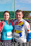 Castleisland duo Susan O'Sullivan and Humphrey Murphy who competed in the Duathlon in Killorglin on Saturday   Copyright Kerry's Eye 2008