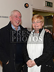 Anthony Fitzsimons and Catherine Jones at St Peters Male Voice Choir show in the Droichead Arts Centre. Photo:Colin Bell/pressphotos.ie
