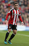 Billy Sharp of Sheffield Utd during the English League One match at Bramall Lane Stadium, Sheffield. Picture date: December 31st, 2016. Pic Simon Bellis/Sportimage