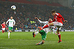 Lloyd Isgrove of Wales during the international friendly match at the Cardiff City Stadium. Photo credit should read: Philip Oldham/Sportimage