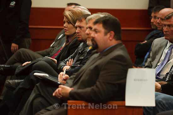 Attorneys for convicted polygamist leader Warren Jeffs argued their case before the Utah Supreme Court Tuesday, November 3 2009 in Salt Lake City, hoping to overturn Jeffs' 2007 conviction as an accomplice to rape. elissa wall, lamont barlow