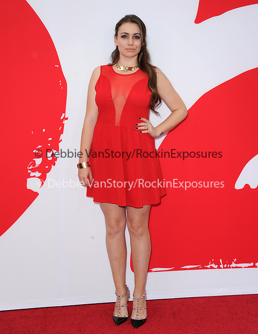 Sophie Simmons at The Summit Entertainment L.A. Premiere of RED 2 held at Westwood Village in Westwood, California on July 11,2013                                                                   Copyright 2013 Hollywood Press Agency