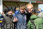 Chris Evans and Matt LeBlanc film Top Gear at Gallarus football pitch on Saturday.
