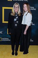 "NEW YORK CITY - MARCH 14: Jane Root and Molly Hill attend National Geographic's ""One Strange Rock"" screening and Q&A at Alice Tully Hall at Lincoln Center on March 14, 2018 in New York City. (Photo by Anthony Behar/NatGeo/PictureGroup)"