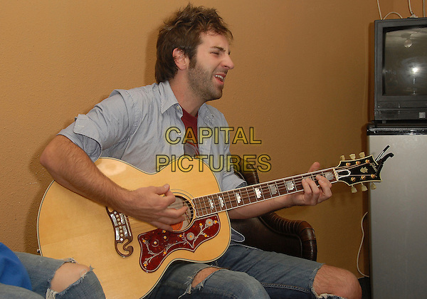 JOSH KELLEY.Keaton Simons & Josh Kelley backstage at The Coach House, San Juan Capistrano , California, USA,.April 30, 2007..half length music guitar gig concert.CAP/DVS.©Debbie VanStory/Capital Pictures.*EXCLUSIVE *