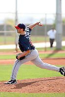 Matthew Langwell, Cleveland Indians 2010 minor league spring training..Photo by:  Bill Mitchell/Four Seam Images.