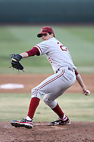 Mark Appel #26 of the Stanford Cardinal pitches against the UCLA Bruins at Jackie Robinson Stadium on April 27, 2012 in Los Angeles,California. Stanford defeated UCLA 7-2.(Larry Goren/Four Seam Images)