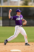 Ashland Eagles Matt McAllester #15 during a game vs. the Minnesota State Mavericks at Lake Myrtle Main Field in Auburndale, Florida;  March 5, 2011.  Minnesota State defeated Ashland 4-3 in the second game of a double header.  Photo By Mike Janes/Four Seam Images