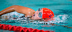 Willow Creek's Olivia Nelson competes in the 50 yard race during the 53rd annual Country Club Swimming Championships on Monday, Aug. 6, 2012, in Kearns, Utah. (© 2012 Douglas C. Pizac)