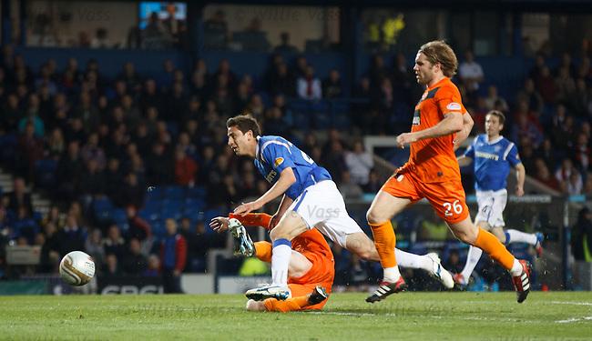 Alejandro Bedoya scores goal no 5 for Rangers