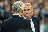 Real Madrid and Legia de Varsovia