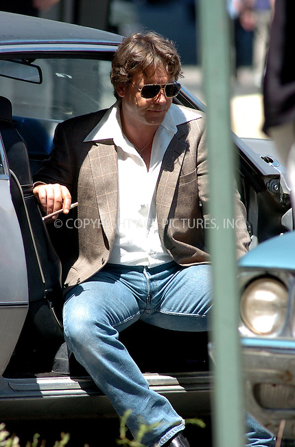 WWW.ACEPIXS.COM . . . . .  ....August 9, 2006, Brooklyn. ....Russell Crowe on the set of 'American Gangster' directed by Ridley Scott. ....Please byline: AJ Sokalner - ACEPIXS.COM..... *** ***..Ace Pictures, Inc:  ..(212) 243-8787 or (646) 769 0430..e-mail: info@acepixs.com..web: http://www.acepixs.com