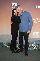 "NORTH HOLLYWOOD, CA - MAY 10: Pamela Adlon, Matthew Glave, at FYC  Event For Season 3 Of FX's ""Better Things"" at Saban Media Center in North Hollywood, California on May 10, 2019. <br /> CAP/MPIFS<br /> ©MPIFS/Capital Pictures"