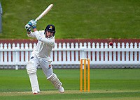 Malcolm Nofal bats on day two of the Plunket Shield cricket match between Wellington Firebirds and Otago Volts at the Basin Reserve in Wellington, New Zealand on Thursday, 18 October 2018. Photo: Dave Lintott / lintottphoto.co.nz