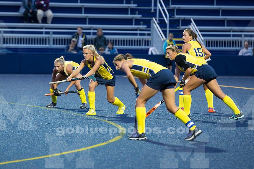 The University of Michigan women's field hockey team beats Providence, 2-0, at Ocker Field in Ann Arbor,MI. on Sept. 10, 2014.