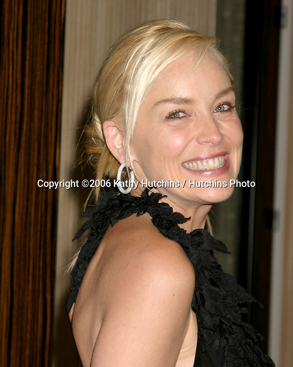 Sharon Stone.Billie Awards.Beverly Hilton Hotel.Beverly Hills, CA.April 20, 2006.©2006 Kathy Hutchins / Hutchins Photo....