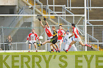 Colm Cooper Crokes sells the Rathmore defence a dummy during the O'Donoghue Cup final in Fitzgerald Stadium on Sunday
