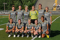Philadelphia Independence starting eleven. The Philadelphia Independence defeated Sky Blue FC 2-1 during a Women's Professional Soccer (WPS) match at John A. Farrell Stadium in West Chester, PA, on June 6, 2010.