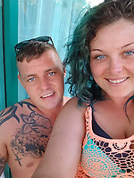 """Pictured: Ricky and Leigha Armstrong<br /> Re: A newlywed couple whose cannabis factory was found by police while they were honeymooning in Cuba were ordered to repay £1,215 after making more than £90,000.<br /> Ricky and Leigha Armstrong, of Oaklands Road, Pontypool, left the UK to get married in the Caribbean in July 2018.<br /> But they left behind a cannabis farm in their rented property along with a cousin who was """"dog-sitting"""", Newport Crown Court heard.<br /> Suspicious neighbours alerted Gwent Police to the smell and they raided the property."""