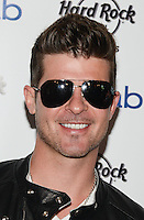 LAS VEGAS, NV - April 12: Robin Thicke launches Rehab 11th Season at the Hard Rock Hotel & Casino on April 12, 2014 in Las Vegas, Nevada. © Kabik/ Starlitepics