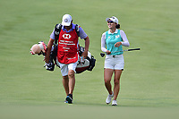 SINGAPORE - FEBRUARY 01: Minjee Lee of Australia coming-down the 1st fairway during the second round of the HSBC Women's World Championship 2019 at Sentosa Golf Club - Tanjong Course, Singapore on March 01, 2019.<br /> .<br /> .<br /> .<br /> (Photo by: Naratip Golf Srisupab/SEALs Sports Images)<br /> .<br /> Any image use must include a mandatory credit line adjacent to the content which should read: Naratip Golf Srisupab/SEALs Sports Images