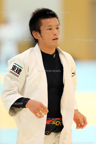 Masaaki Fukuoka (JPN), <br /> August 13, 2013 - Judo : <br /> Japan Men's National Team Training Camp <br /> at Ajinomoto National Training Center, Tokyo, Japan. <br /> (Photo by Daiju Kitamura/AFLO SPORT)