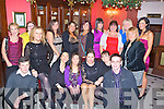 STORE: Staff members of Dunnes Store North Circular Road, Tralee held their Christmas party in The Imperial Hotel, Tralee on Saturday night. Front l-r: Jerard Scannell, Geraldine Parker, Michelle Roche, Marie Lehane, Karen Sweeney, Rosanne O'Dwyer and Simon McCarthy. Back l-r: Olivia Cannon, Louise Lesley, Aishling O'Connor,Jackie O'Sullivan, Sineade O'Shea, Ashely Guinan, Lillian Tobin, Bernie Colgan, Sarah Carey and Andrina Carmody.  Hotel . . ............................... ..........