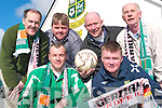 KICK OFF: Gearing up for the international Under 16 friendly between Ireland and Germany to be played in Listowel Celtic FC's Pat Kennedy Park on Thursday were front l-r: John Chute and Aiden O'Connor. Back l-r: Dominic Scanlon, Brian Godfrey, John O'Sullivan and Mike Barry.    Copyright Kerry's Eye 2008